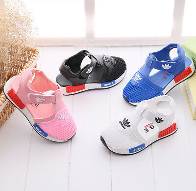 New Kids Sports Girls Boys Children Summer Casual Beach Closed Toe Sandals Shoes