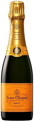 Veuve Clicquot `Yellow Label` Brut Champagne NV Half Bottle (12 x 375mL) FR