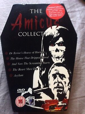 The Amicus collection limited edition 5 dvd R2 House that dripped blood Asylum