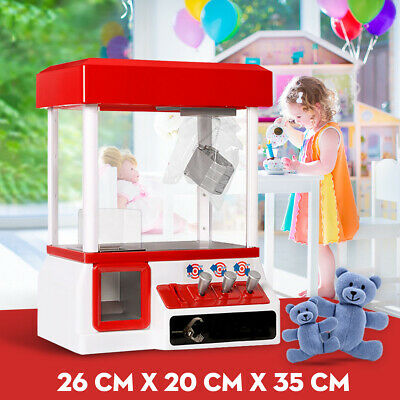 Carnival Style Vending Arcade Claw Machine Grabber Candy Prize Game Kids Toy AU