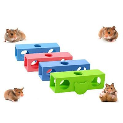 Fun Nest Cylinder Pet Toys Hamster Rat Small Cage Toy Guinea Pig House Gifts JA