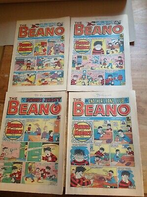 The Beano x 22 from 1986 / 87 Weekly Comic