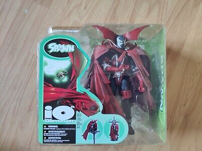 """Spawn 10th Anniversary action figure 7"""" NEW Todd McFarlane 2002 Image Legends"""
