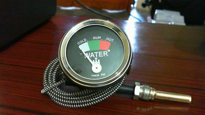 "IH / Farmall Tractor Water Temperature Gauge with 72"" Capillary Temp Gauge"