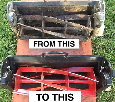 I FULLY REFURBISH LAWNMOWER CASSETTES from £29.95 (not unit for sale) ALL MAKES