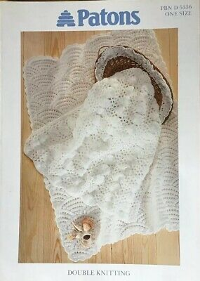 Patons Knitting Pattern For Pram Covers