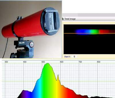 Light Spectrometer (UV & IR)  for USB-connection to Windows PC (Fixed slit)