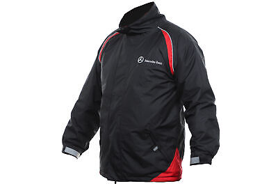Mercedes-Benz original Mantel Jacke schwarz rot unisex Windbreakerjacke