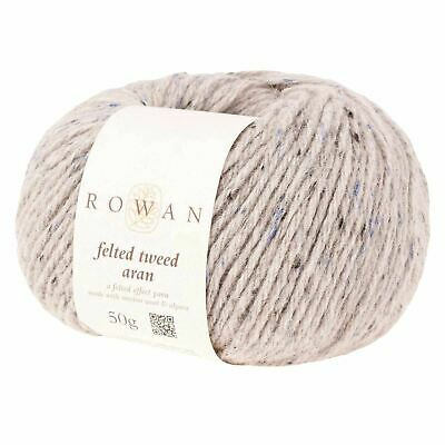Rowan Felted Tweed ARAN Merino Alpaca 50g Knitting Wool – Various Colours