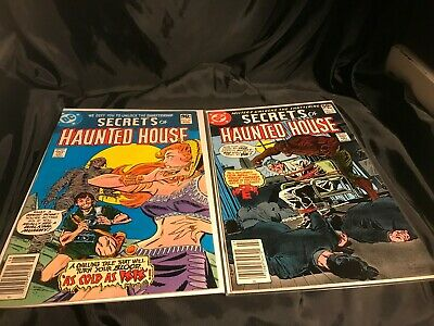 SECRETS OF HAUNTED HOUSE #27 & #38 DC Comics includes MISTER E story- SUPER!!!