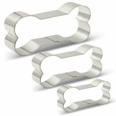 KENIAO Dog Bone/Dog Biscuit Cookie Cutters for Homemade Dog Treats Cookie Cutter