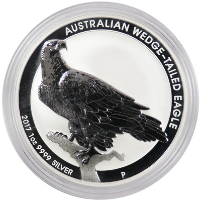 2017-P $1 Australia Silver Wedge Tailed Eagle 1 oz BU