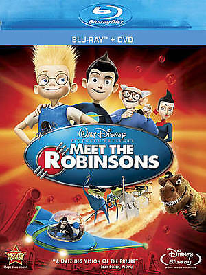 Meet the Robinsons (Blu-ray/DVD, 2011, 2-Disc Set)  Disney  Children's  Animated