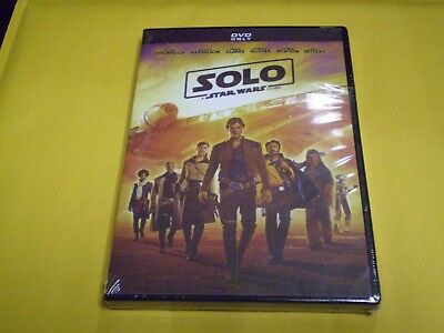 Solo: A Star Wars Story   (DVD, 2018)   Woody Harrelson  Donald Glover   NEW