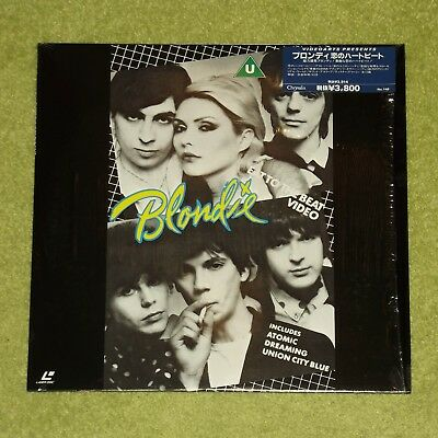 BLONDIE Eat To The Beat - RARE 1990 JAPAN LASERDISC +HYPE STICKER (Debbie Harry)