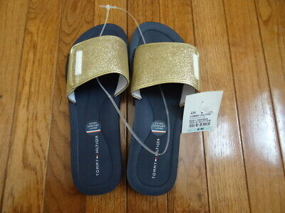 8f8970200001 TOMMY HILFIGER SANDALS womens size 8.5. white leather NWOB -  21.00 ...