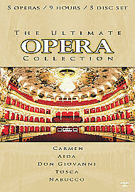 The Ultimate Opera Collection (NEW AND SEALED) 5-Disc Set