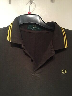 SKINHEAD Mens FRED PERRY 50 Made In England True Vintage Polo