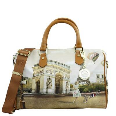 BORSA DONNA Y Not  Bauletto Medio Con Tracolla Princess In London L ... 518d4726810