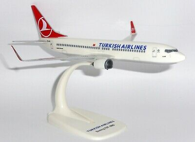 Punctual Boeing 737-400 Lufthansa Solid Kiln Dried Mahogany Wood Handmade Desktop Model Models