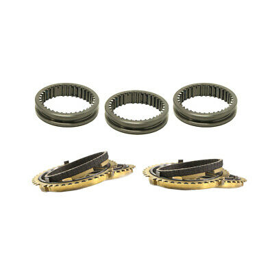 Synchrotech For Honda Civic Crx Ef Cable A1 J1 Y2 Carbon Synchro Sleeve Set