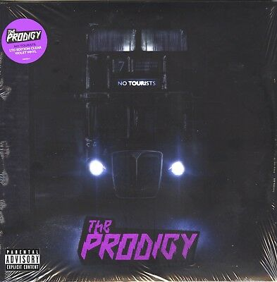 The Prodigy, No Tourists, Limited Edition, Clear Violet Colored Vinyl, 2XLP BUMP