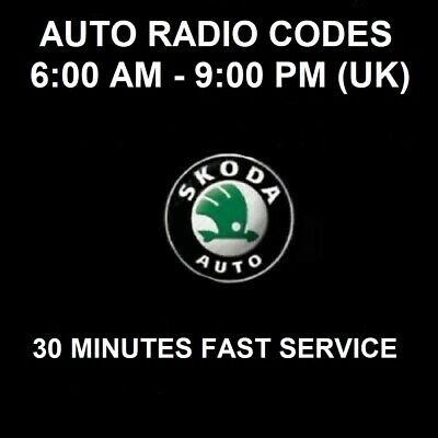 Skoda Radio Code Unlock Code Bolero Fabia Swing Symphony Octavia Superb & Others