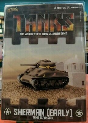 GALE FORCE NINE, Tanks miniature game, M3A1 Sherman (Early) Expansion, New