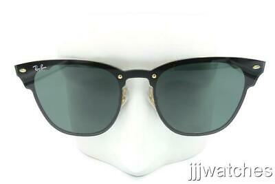 5bad436cea5 New Ray Ban BLAZE CLUBMASTER Green Classic Sunglasses RB3576N 043 71 41     173