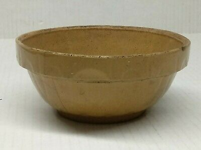 "1930s-1940s Watt Ovenware Made in USA Loop pattern 5"" mixing bowl"