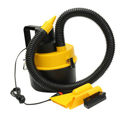 Car Motor Home Travel Camping 12V Plug High Power Vacuum Cleaner Tool