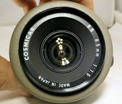 Cosmicar ES TV LENS 8.5mm f1.5 C-mount - with cable cut Parts Or Repair AS IS