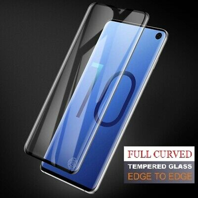 Samsung Galaxy S10 Plus S10e Case Friendly Tempered Glass Screen Protector