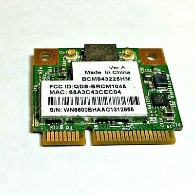BROADCOM 802.11BG DRIVER PC