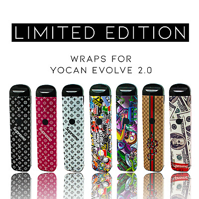Custom Skin Decal for *Yocan² Evolve² 2.0 (Wrap Only, Device Is Not Included)!