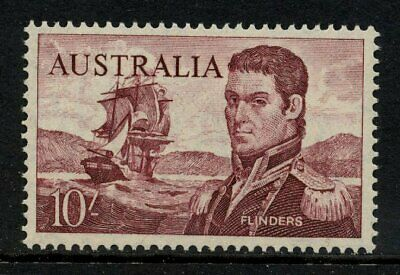 1964 Navigators Definitives Cream Paper 10/- Violet MVLH SG 358 A39