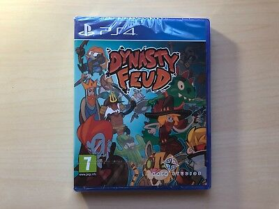 Juego DYNASTY FEUD  PS4 NEW SEALED Spanish Exclusive Playable In English