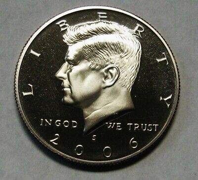 2006-S Clad Proof John F Kennedy Half Dollar Flashy Gem Examples  DUTCH AUCTION