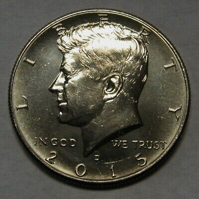 2015-D John F Kennedy Clad Half Dollar Choice BU Condition From Mint Bag  DUTCH
