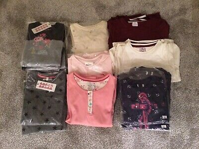BNWT Girls Long Sleeve Tops Job Lot Wholesale 31 Items