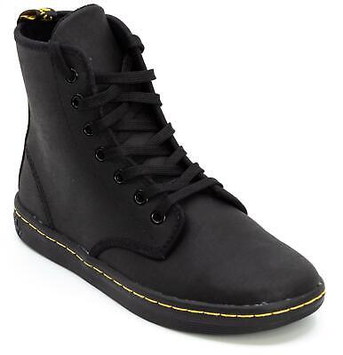 4f8abe9aaa3 DR. MARTENS WOMEN'S Shoreditch Greasy Lace Up Leather Boots