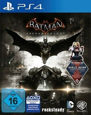 PS4 / Sony Playstation 4 game - Batman: Arkham Knight [Standard] EN/GER boxed