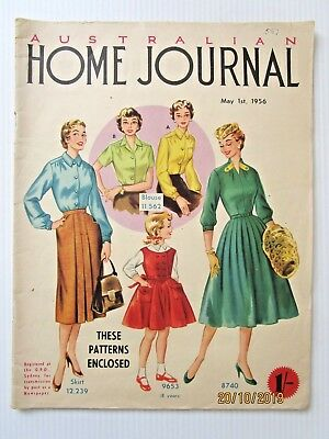 Australian Home Journal May 1956 -- FREE POSTAGE