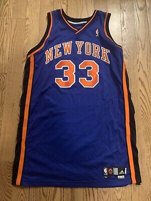 promo code 20790 ccde6 AUTHENTIC ADIDAS TEAM ISSUED GAME JERSEY New York Knicks Patrick EWING