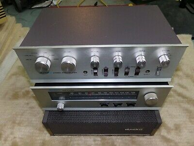 Dynaco Stereo 120 Amplfier Dynaco PAT-4 Preamp and FM-5 Tuner Bench Tested WOW