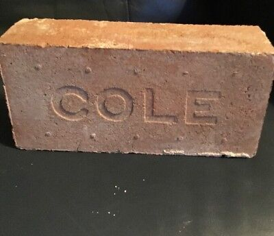 Antique Brick Stamped Cole