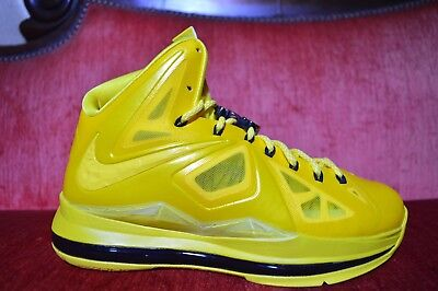 68c51d8b71f NEW Nike Lebron X 10 Must Be The Honey Size 7.5 Honeywell PE Sample Nelly  Bee