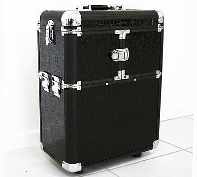 Deluxe Professional Beauty Makeup Suitcase Organiser Trolley