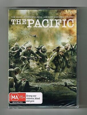 The Pacific (Mini-Series TV Drama) Dvd 6-Disc Set Brand New & Sealed