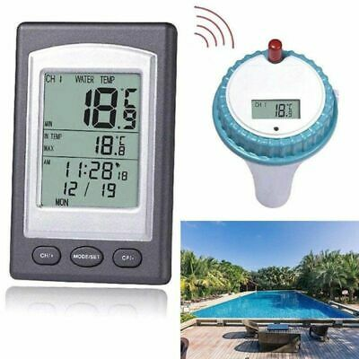 Wireless Remote Floating Waterproof Thermometer For Swimming Pool Hot Pond Spa